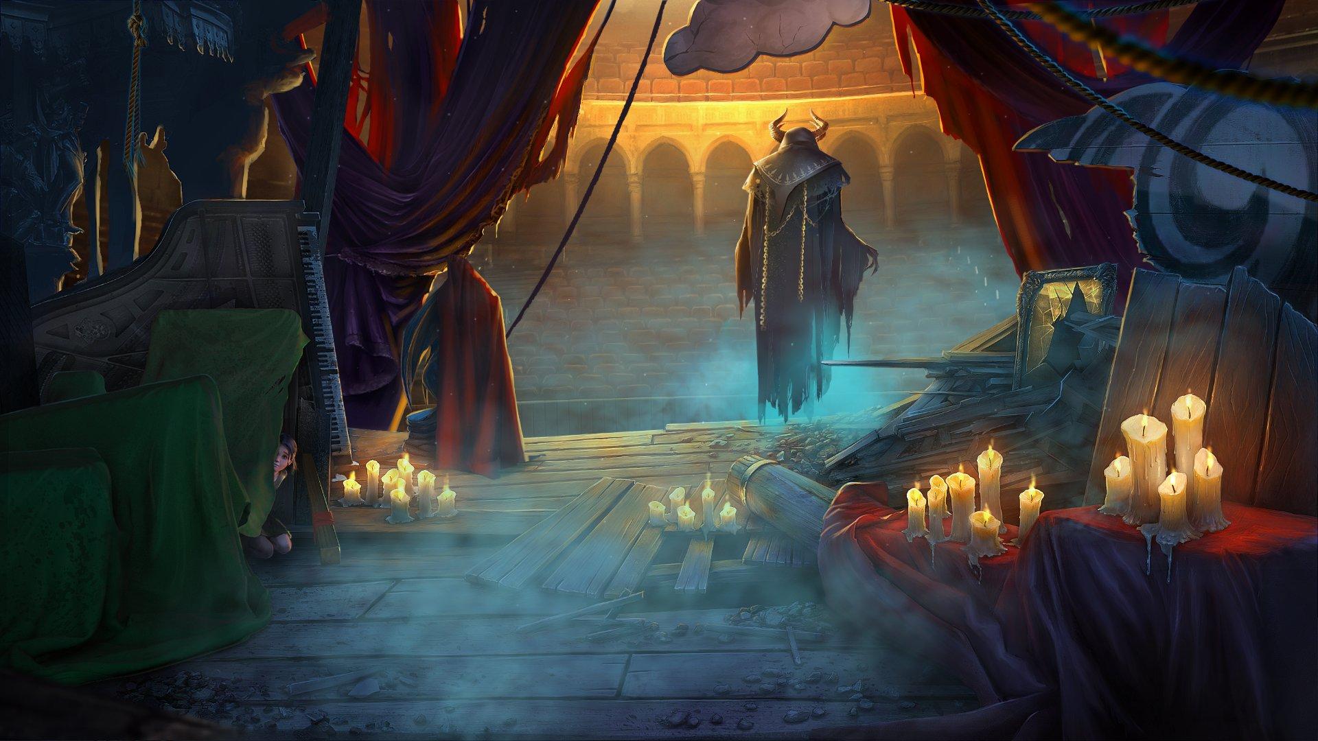 Скриншот №3 к Grim Legends 3 The Dark City Deluxe