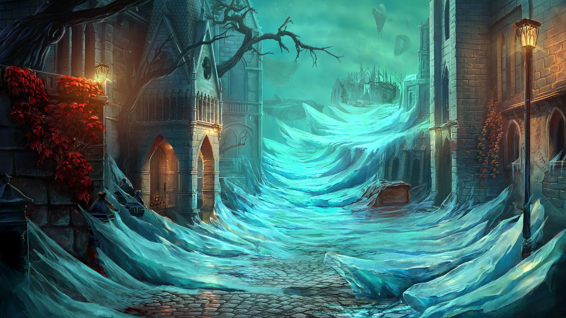 Скриншот №6 к Grim Legends 3 The Dark City Deluxe