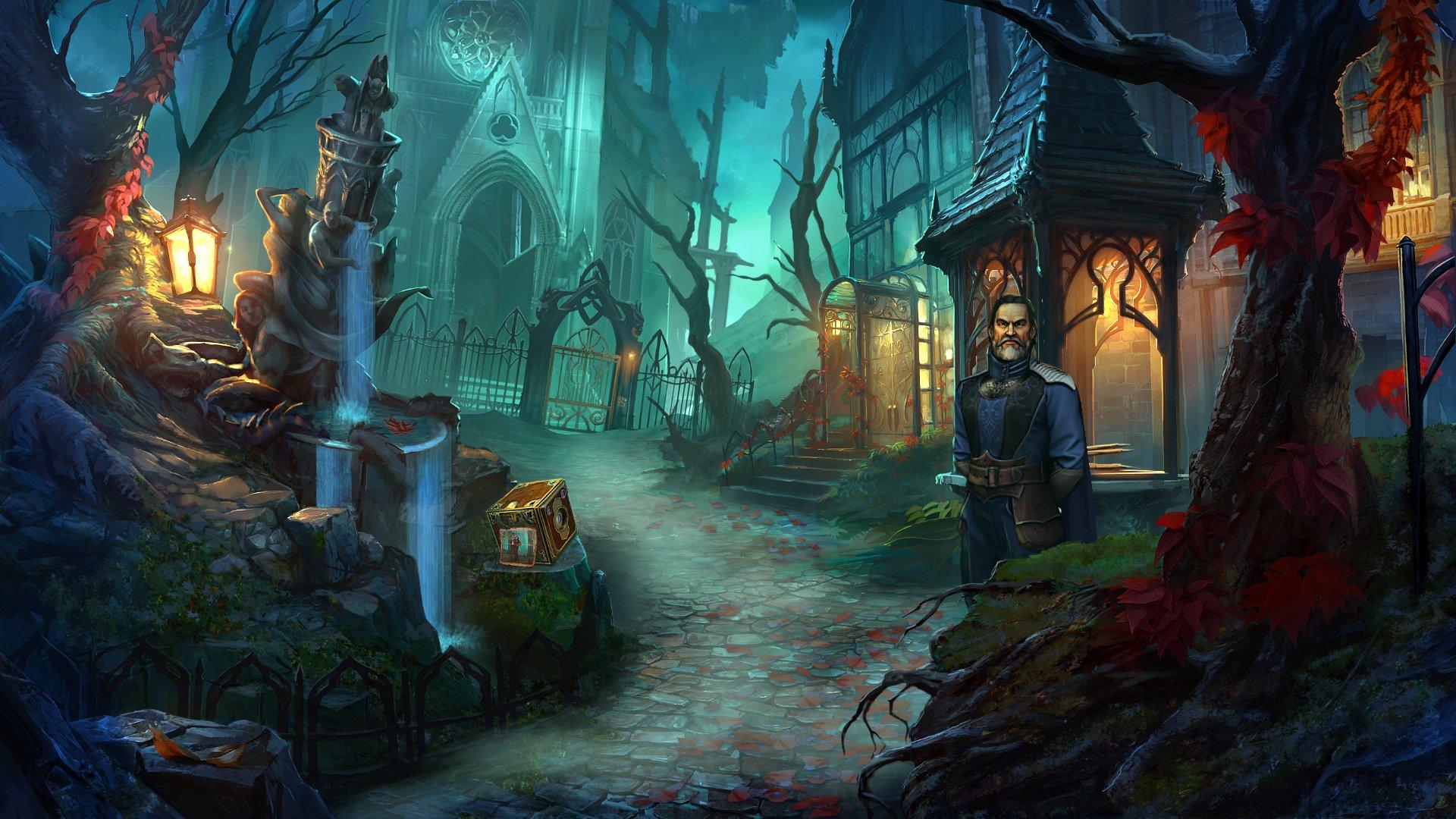 Скриншот №1 к Grim Legends 3 The Dark City Deluxe