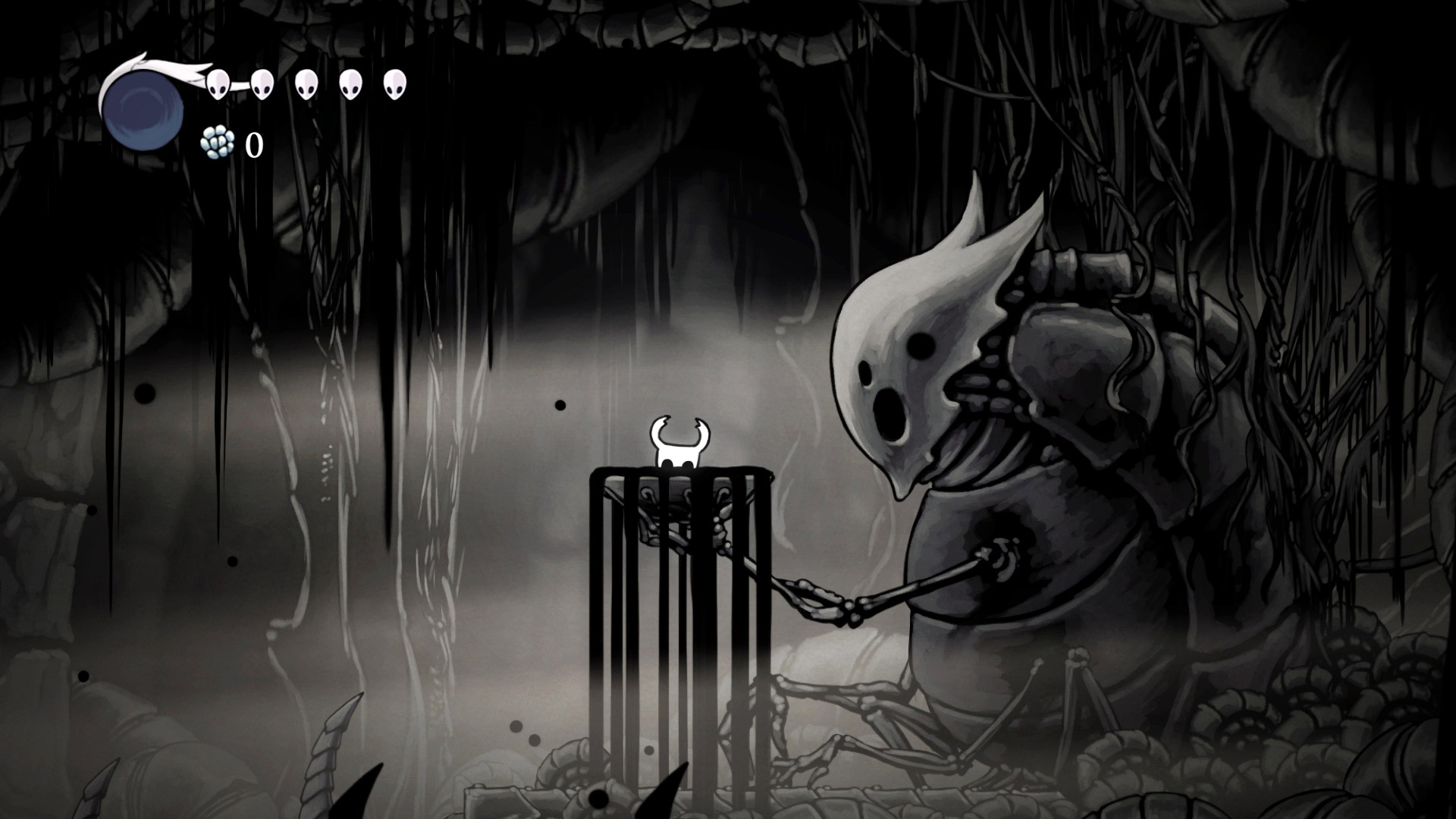 Скриншот №5 к Hollow Knight Издание «Сердце пустоты»