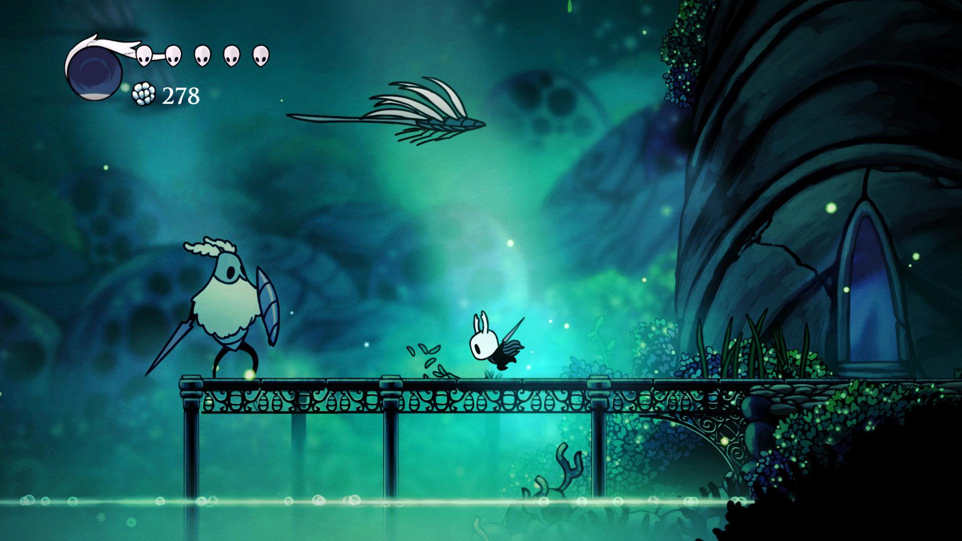 Скриншот №1 к Hollow Knight Издание «Сердце пустоты»