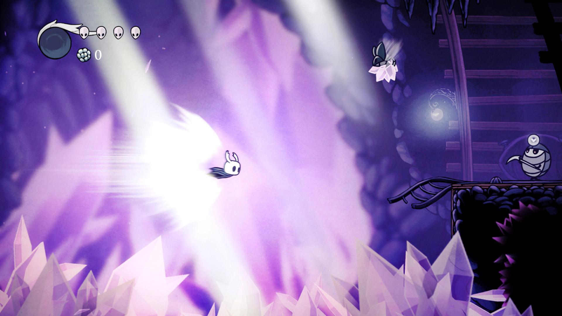 Скриншот №4 к Hollow Knight Издание «Сердце пустоты»