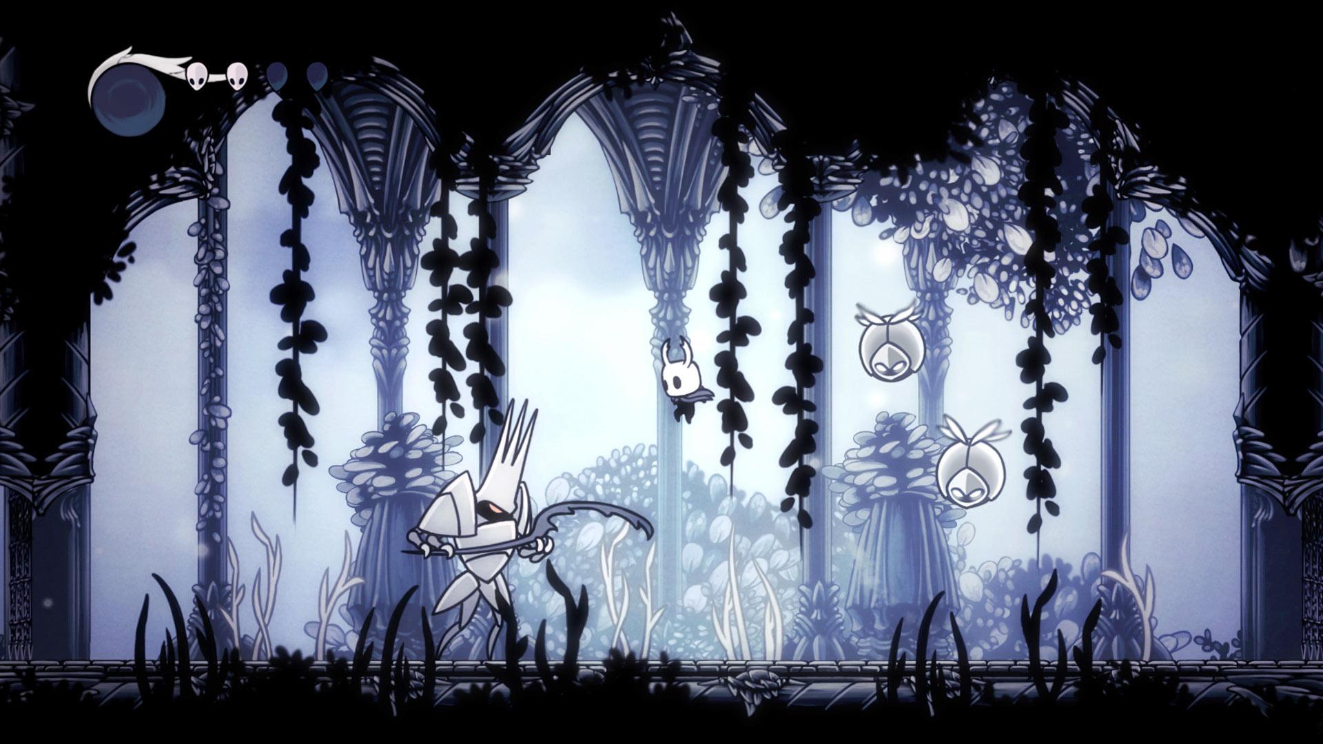 Скриншот №9 к Hollow Knight Издание «Сердце пустоты»