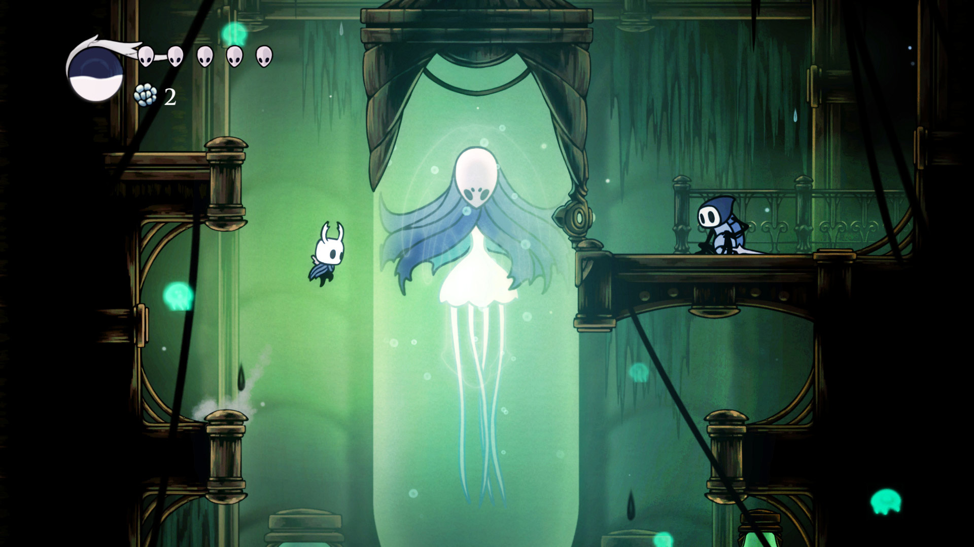 Скриншот №8 к Hollow Knight Издание «Сердце пустоты»