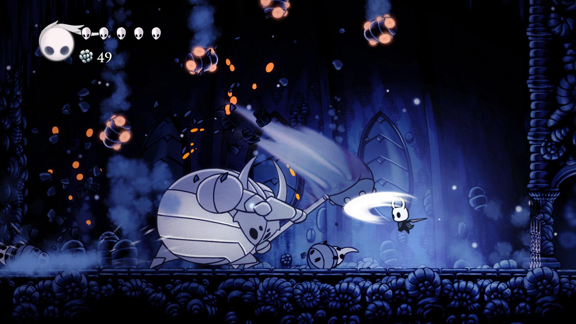 Скриншот №6 к Hollow Knight Издание «Сердце пустоты»