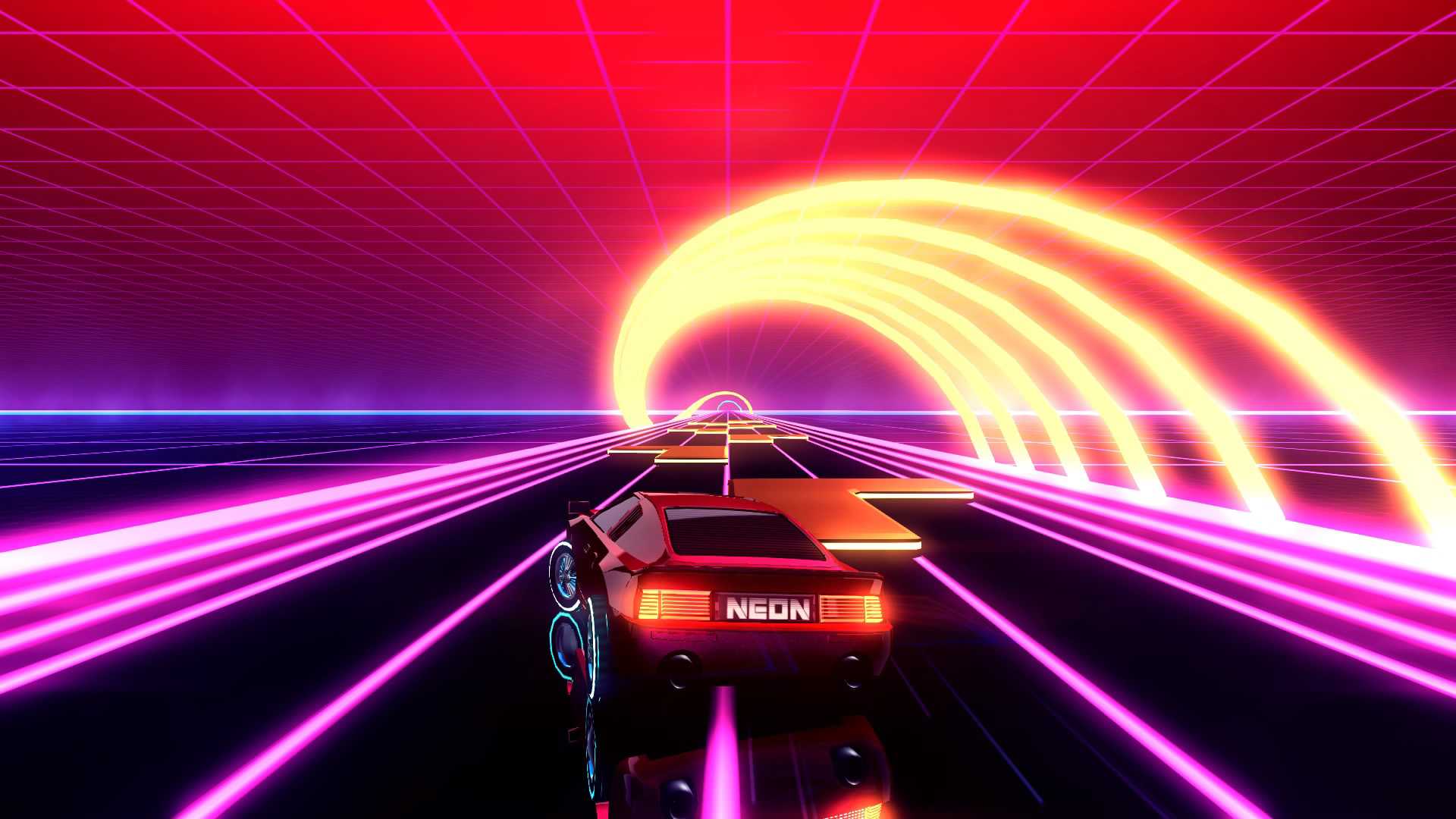 Futuristic Neon Drive On Ps4 Official Playstation Store Uk