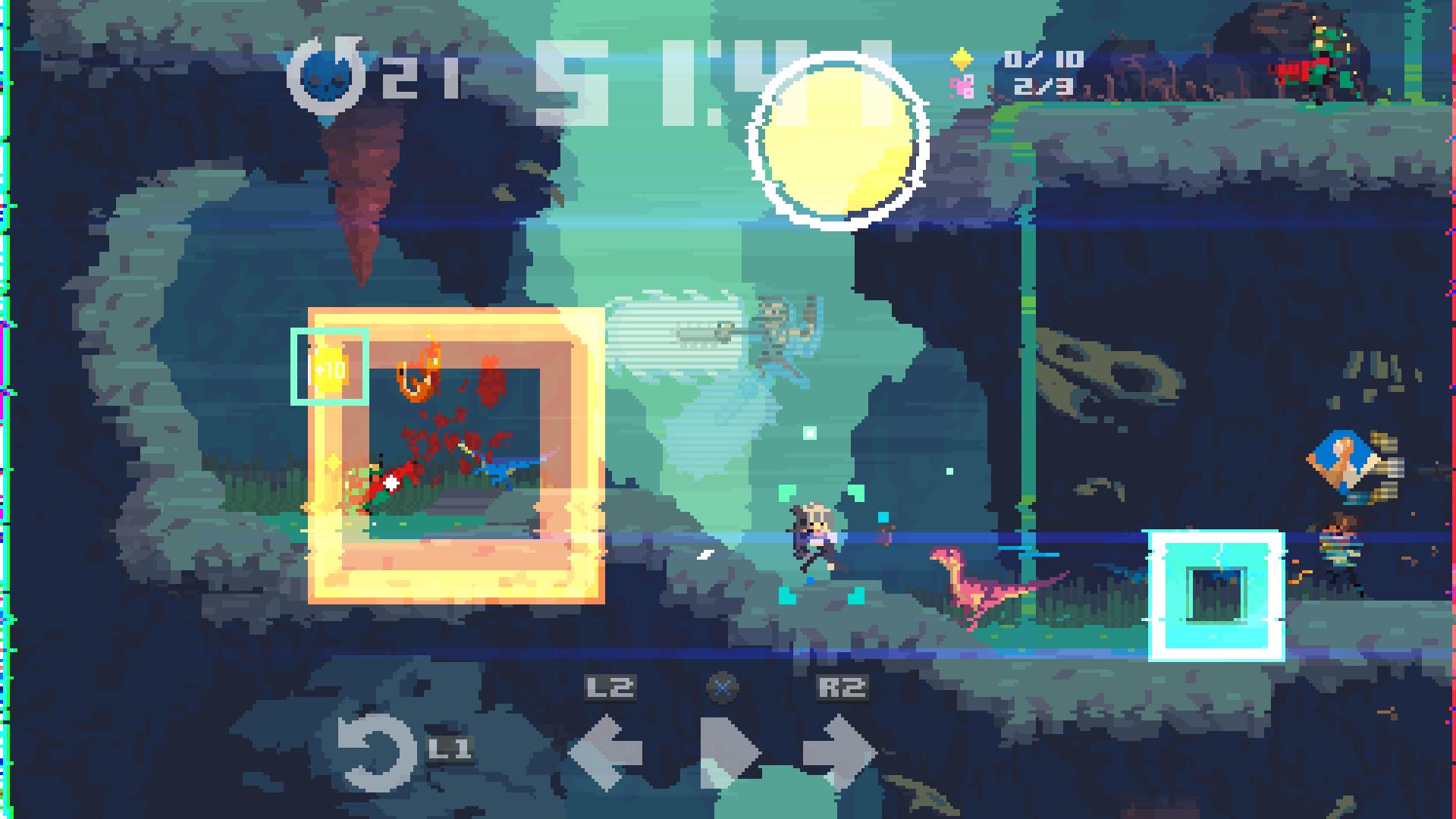 Скриншот №3 к Super Time Force Ultra