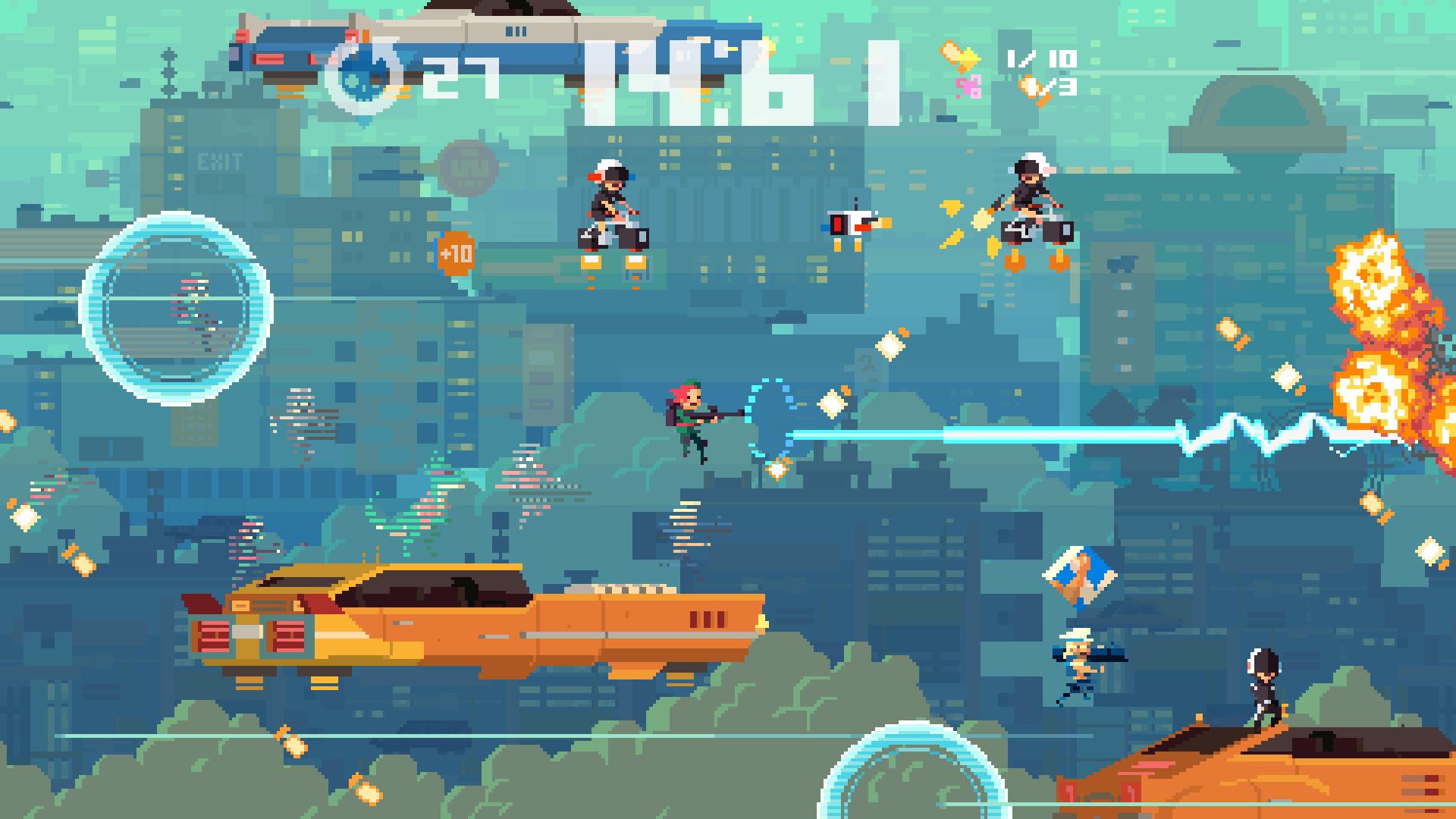 Скриншот №7 к Super Time Force Ultra