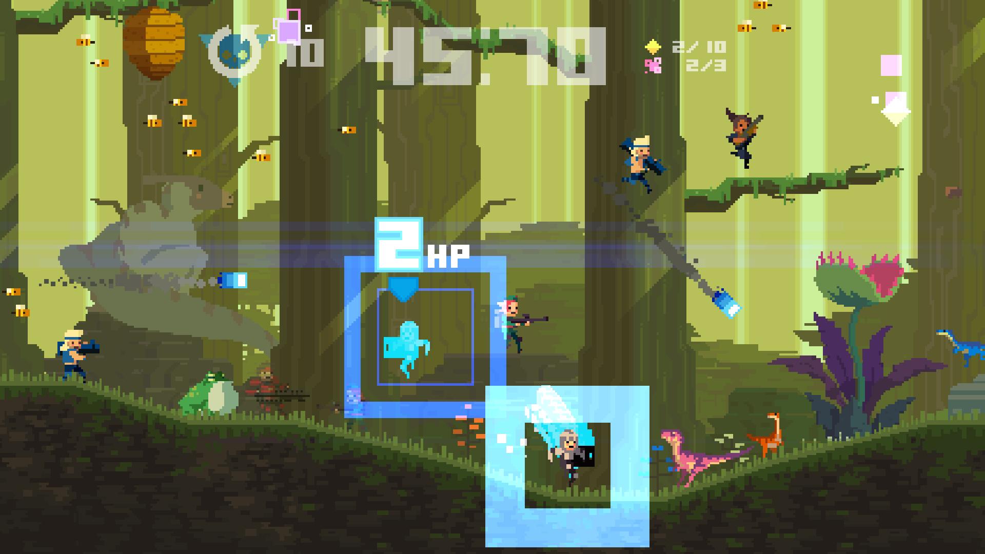 Скриншот №8 к Super Time Force Ultra