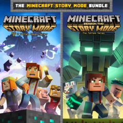The Minecraft : Story Mode Bundle