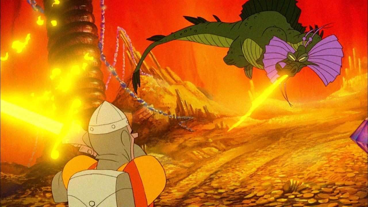 Скриншот №2 к Dragons Lair трилогия