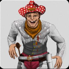 Быстрый стрелок: сумасшедший ковбойская Aватар