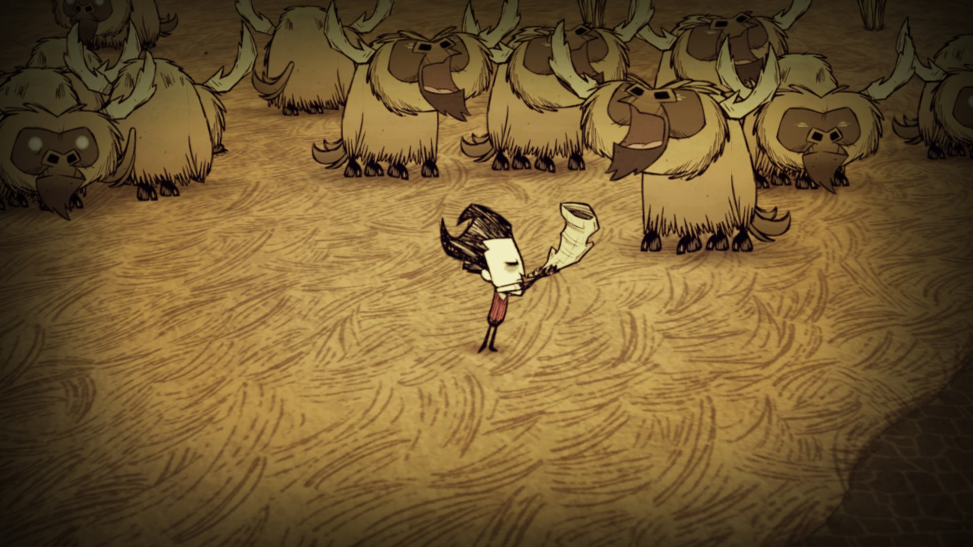 Скриншот №3 к Dont Starve Console Edition