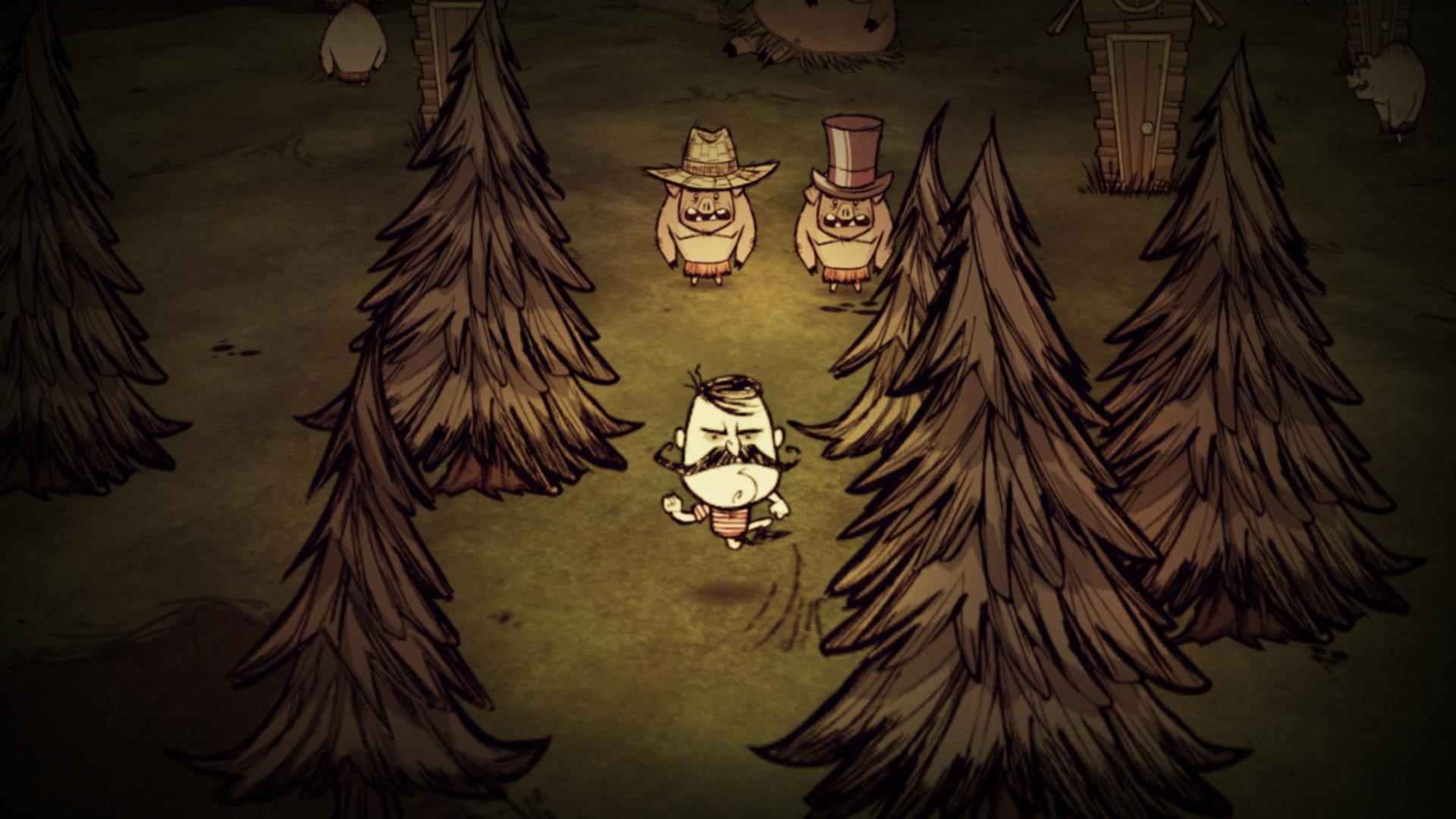 Скриншот №4 к Dont Starve Console Edition