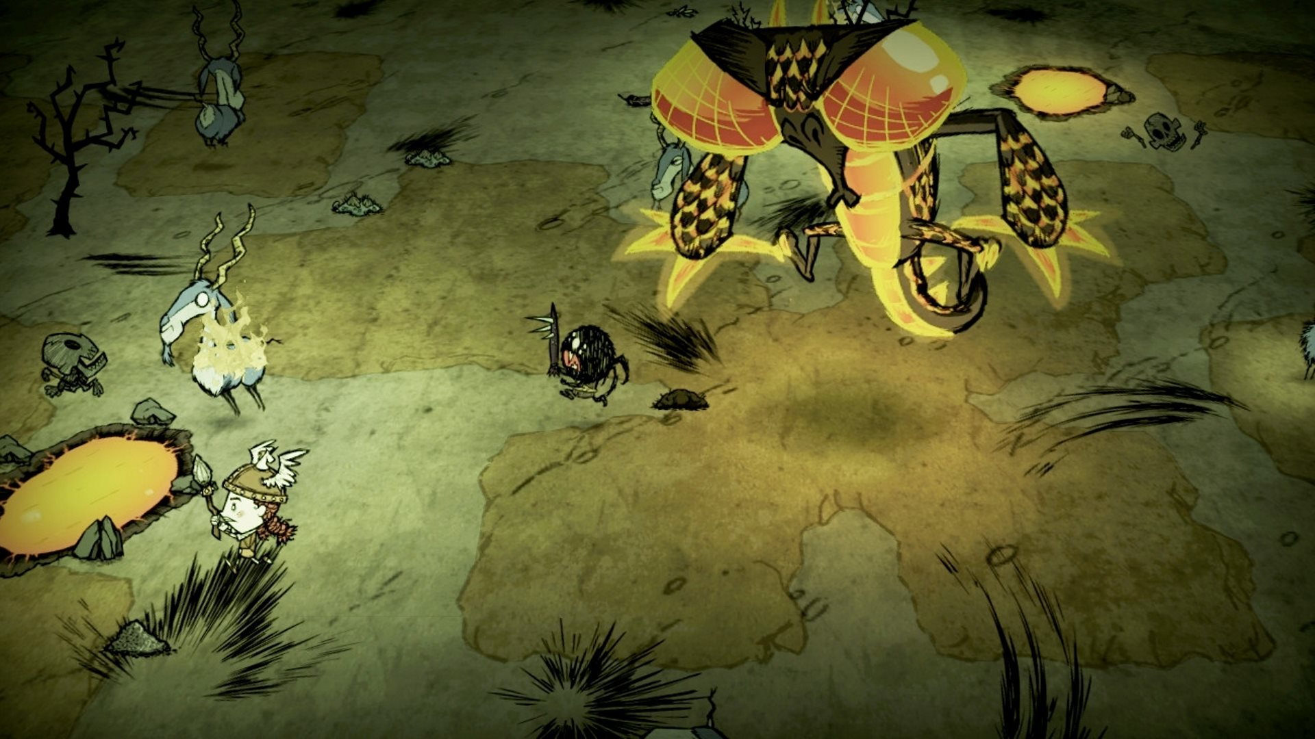 Скриншот №1 к Dont Starve Together Console Edition