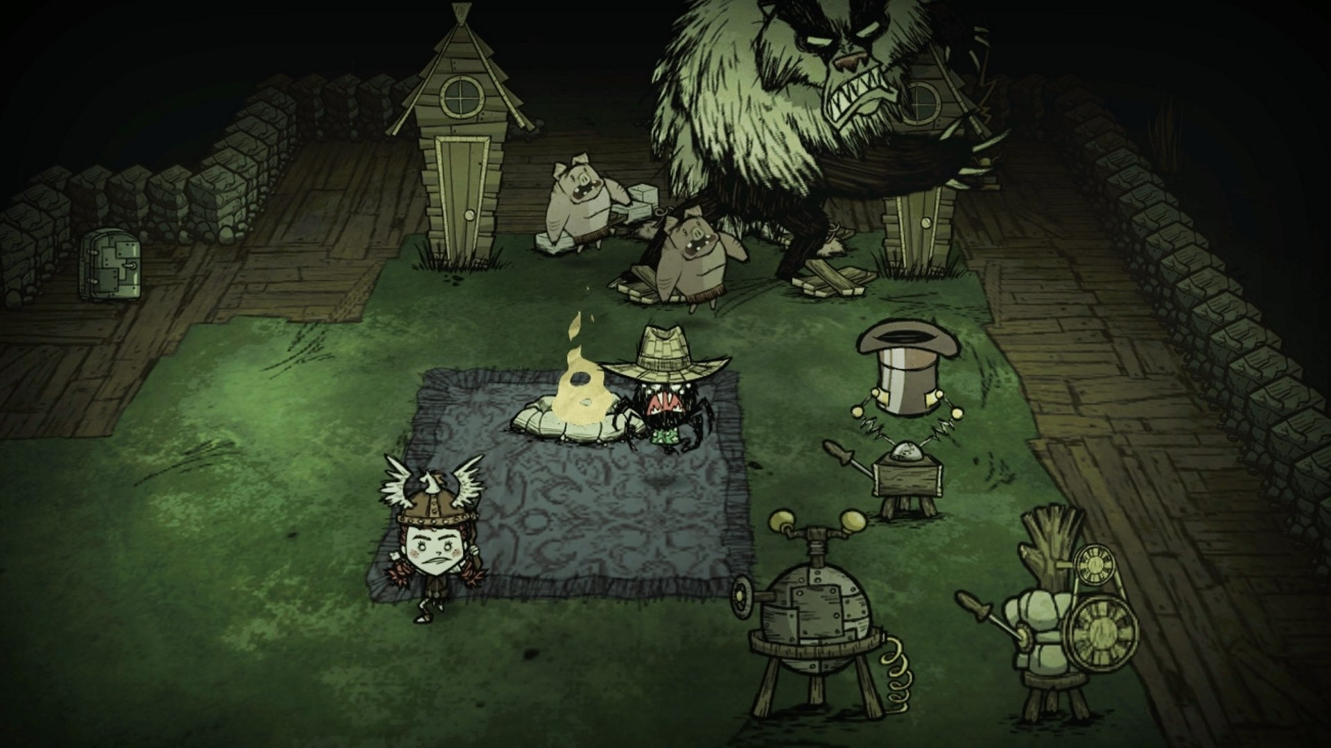 Скриншот №3 к Dont Starve Together Console Edition