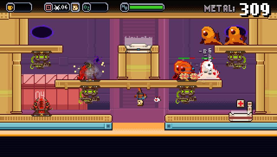Spacejacked скриншот 2