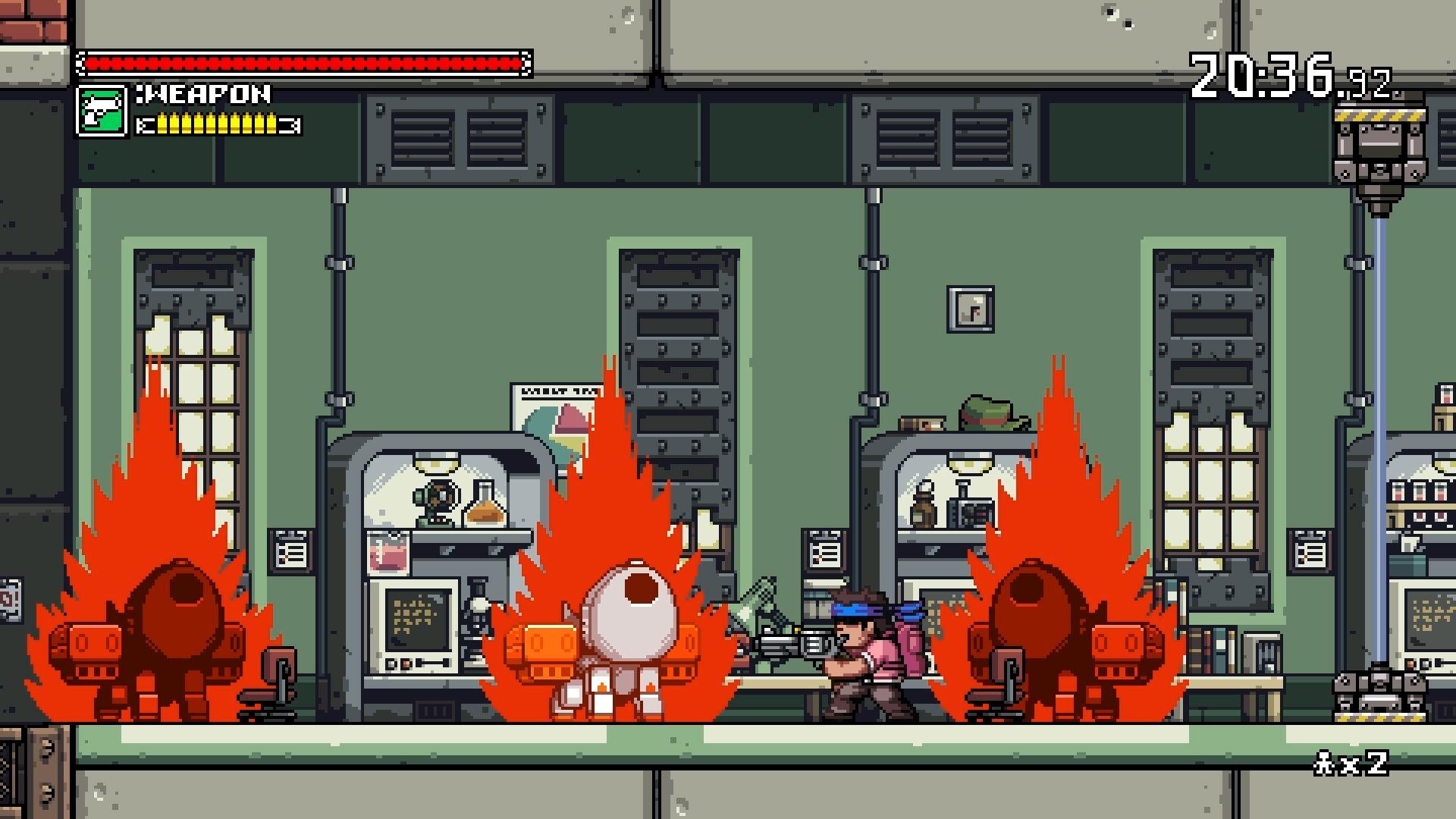 Скриншот №9 к Mercenary Kings Reloaded Edition