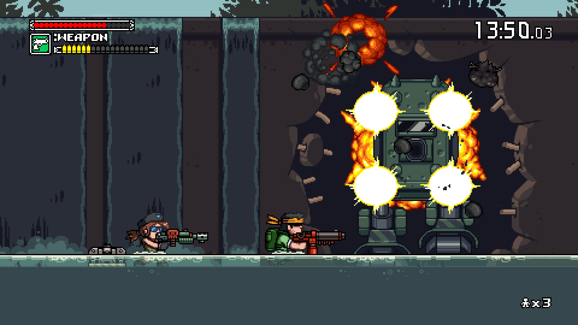 Скриншот №8 к Mercenary Kings Reloaded Edition