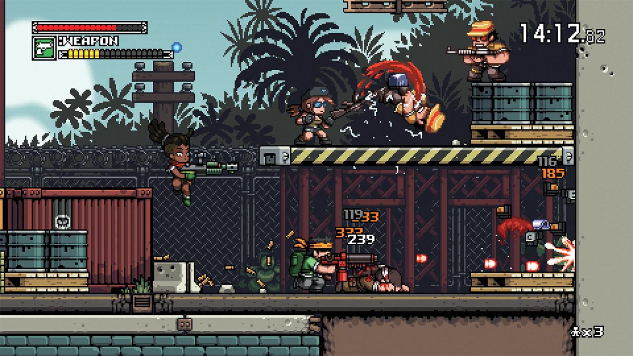 Скриншот №1 к Mercenary Kings Reloaded Edition