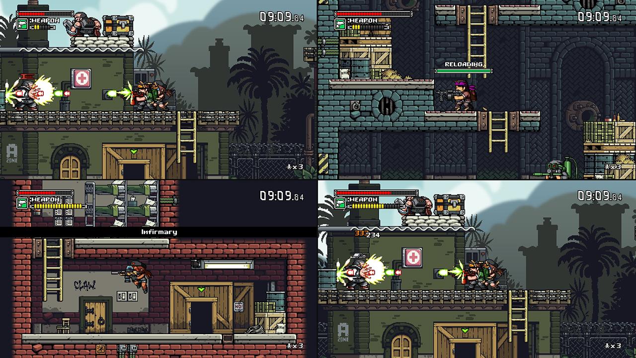 Скриншот №6 к Mercenary Kings Reloaded Edition