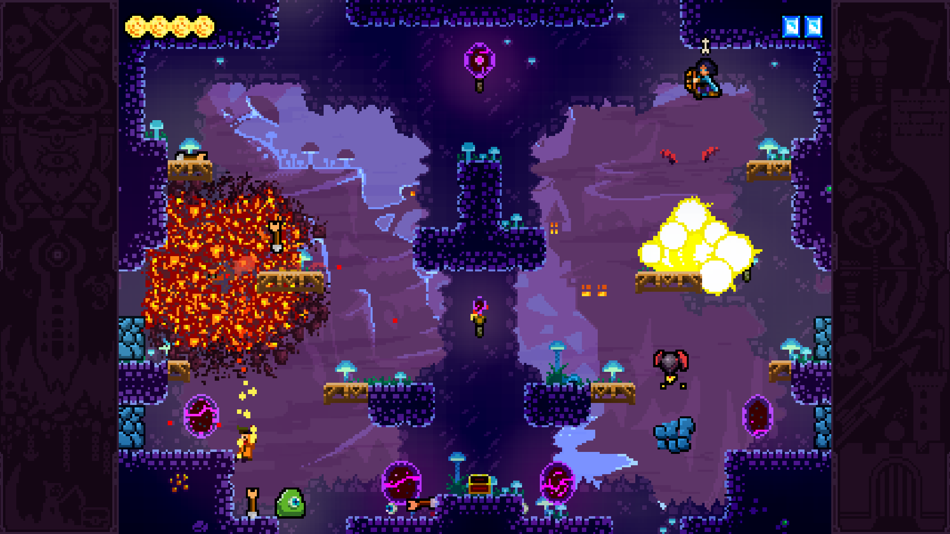Скриншот №9 к TowerFall Ascension