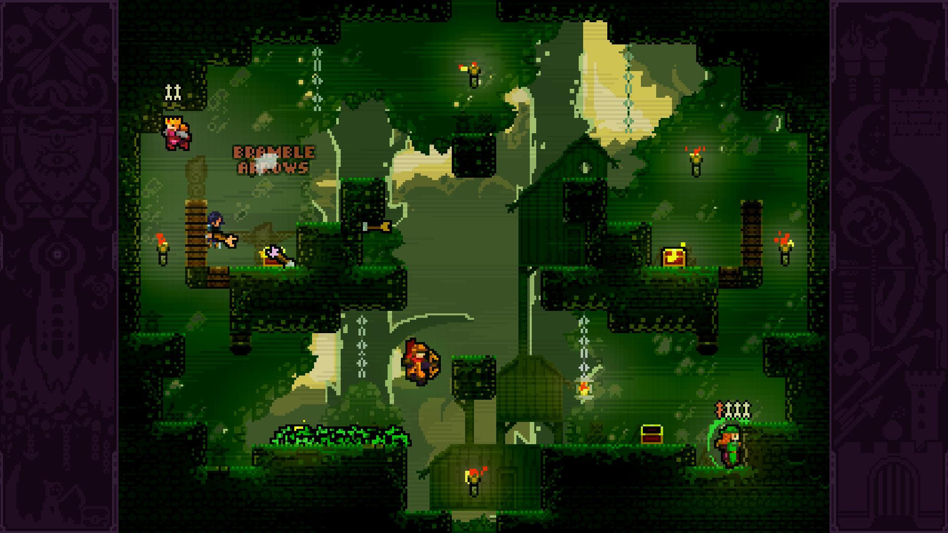 Скриншот №7 к TowerFall Ascension
