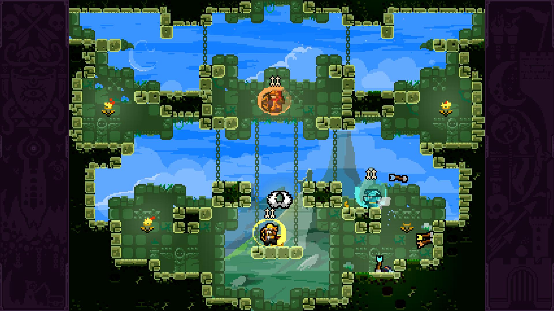 Скриншот №3 к TowerFall Ascension