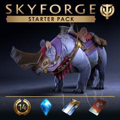 Skyforge  : Immortel choisi par Aeli  : kit de démarrage