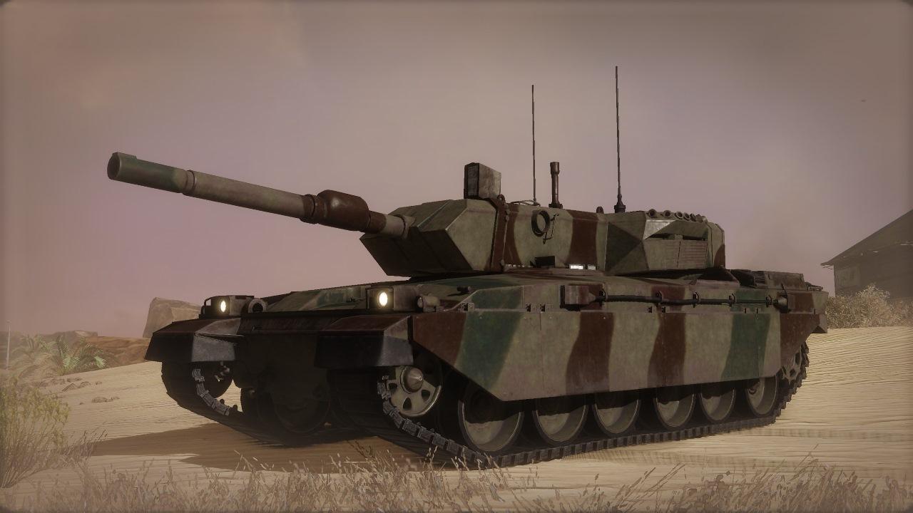 Скриншот №1 к Armored Warfare – Легендарный стартовый комплект