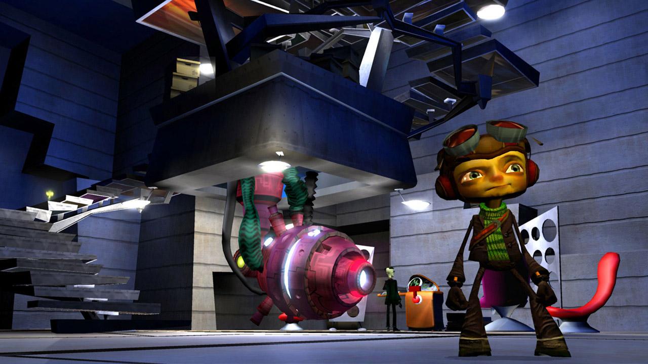 Скриншот №5 к Psychonauts