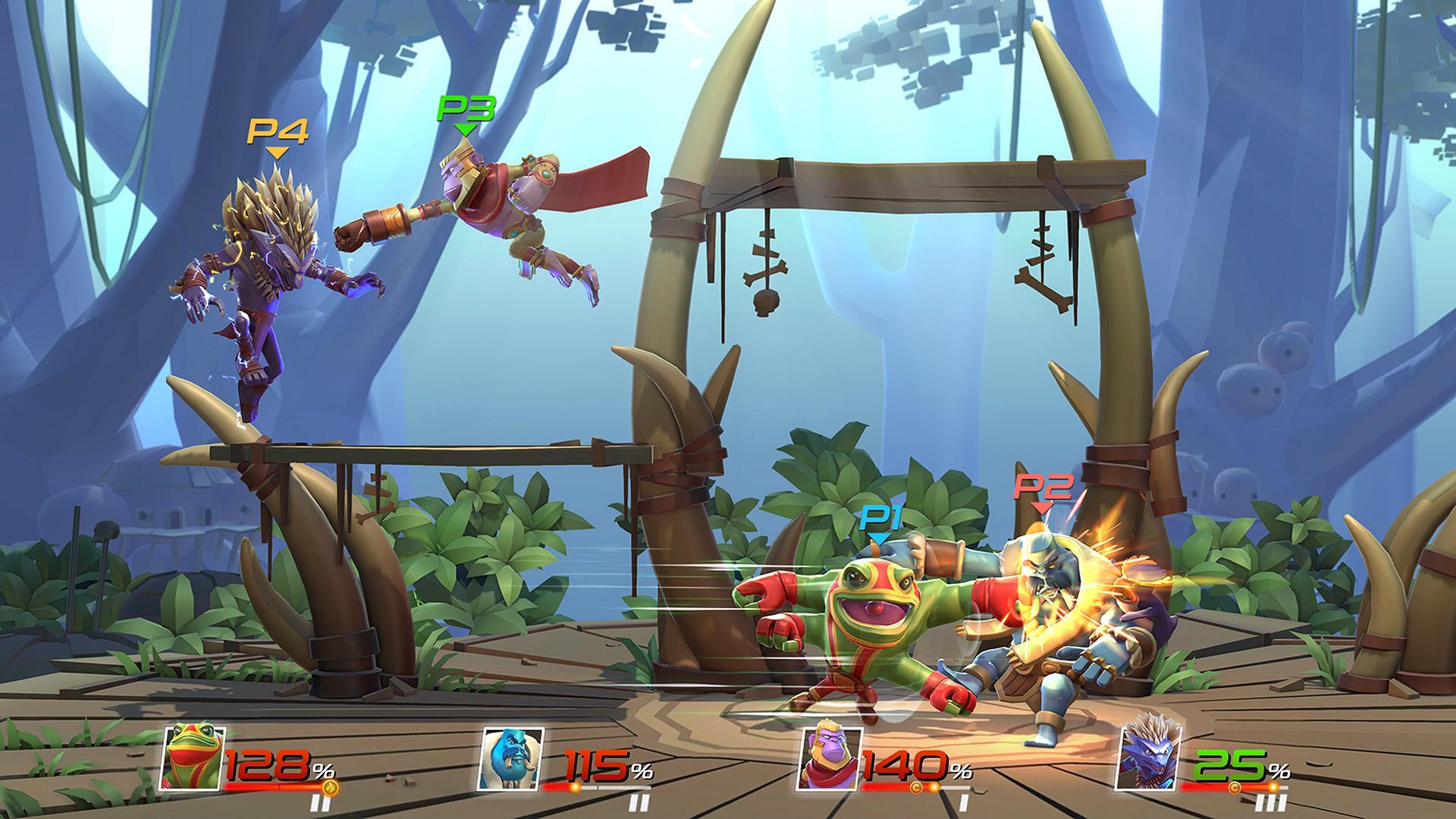 Brawlout скриншот 1