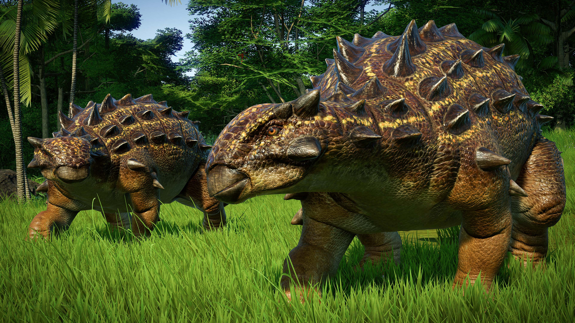 Jurassic World Evolution: Claire's Sanctuary sisteminde