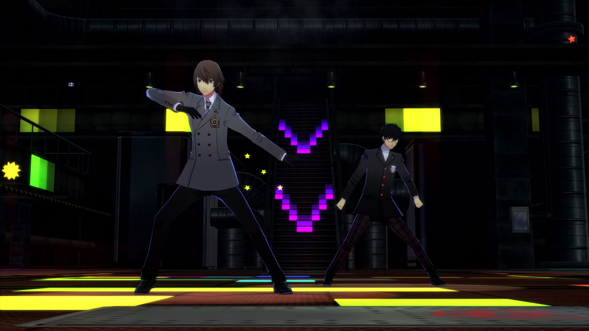 P3D/P5D: Goro Akechi in 'Will Power'