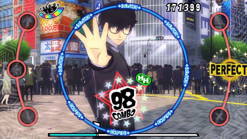 Persona 5: Dancing in Starlight скриншот 7