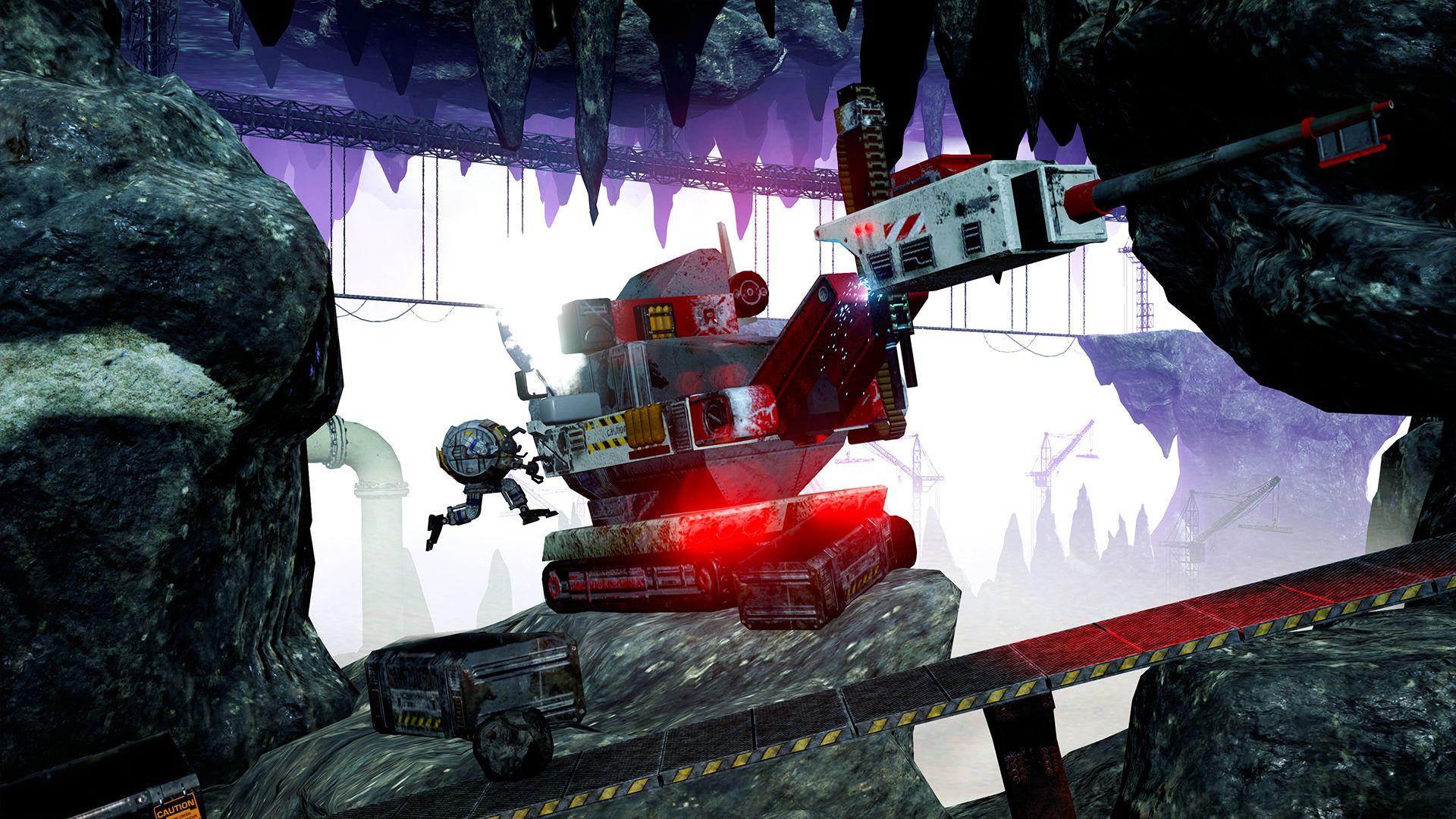 SHINY - A Robotic Adventure скриншот 2
