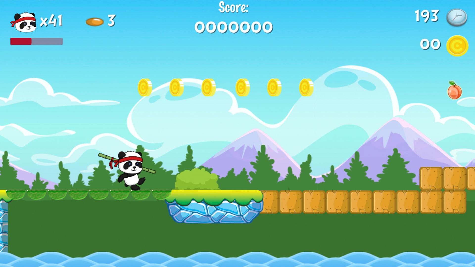 Panda Hero скриншот 1