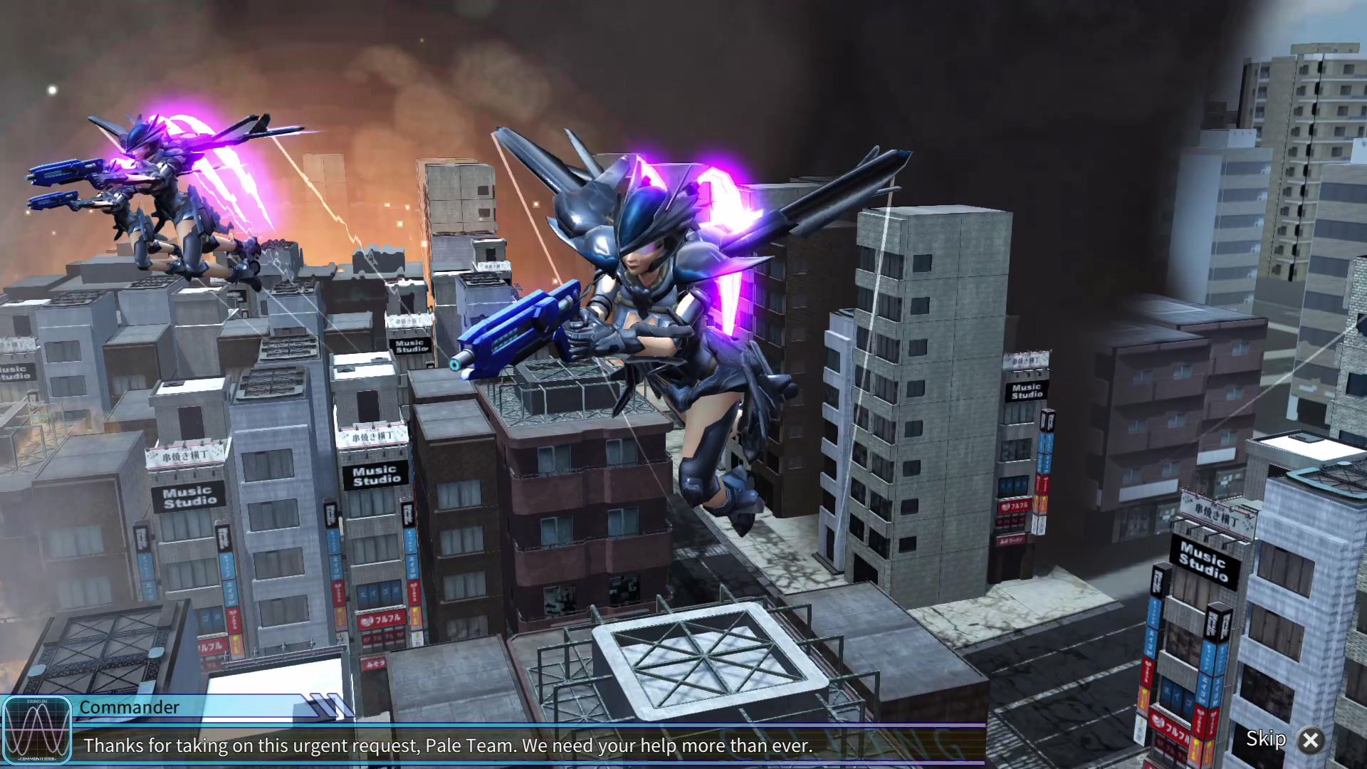 EARTH DEFENSE FORCE4.1 WINGDIVER THE SHOOTER скриншот 4