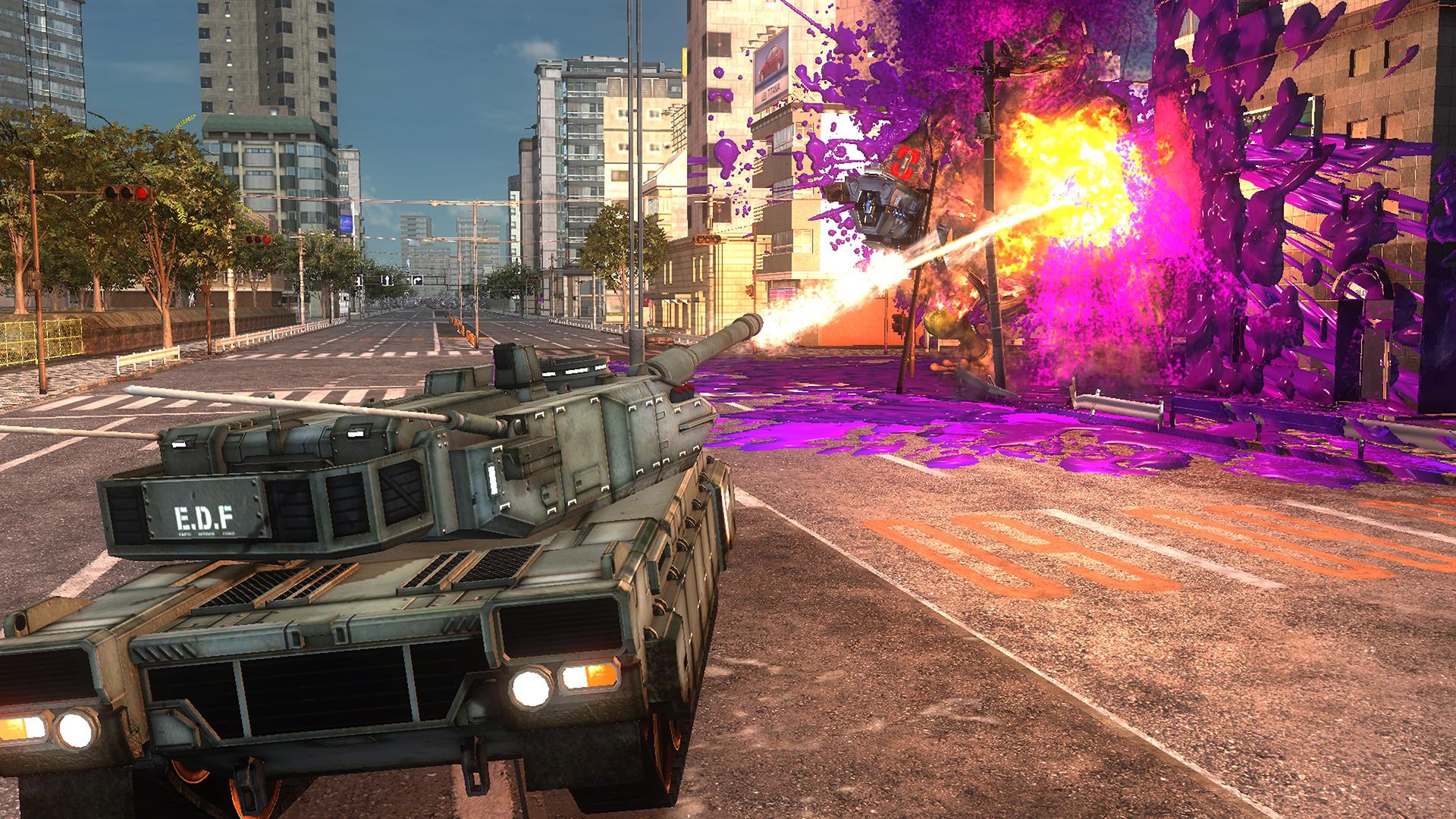 EARTH DEFENSE FORCE 5 скриншот 4