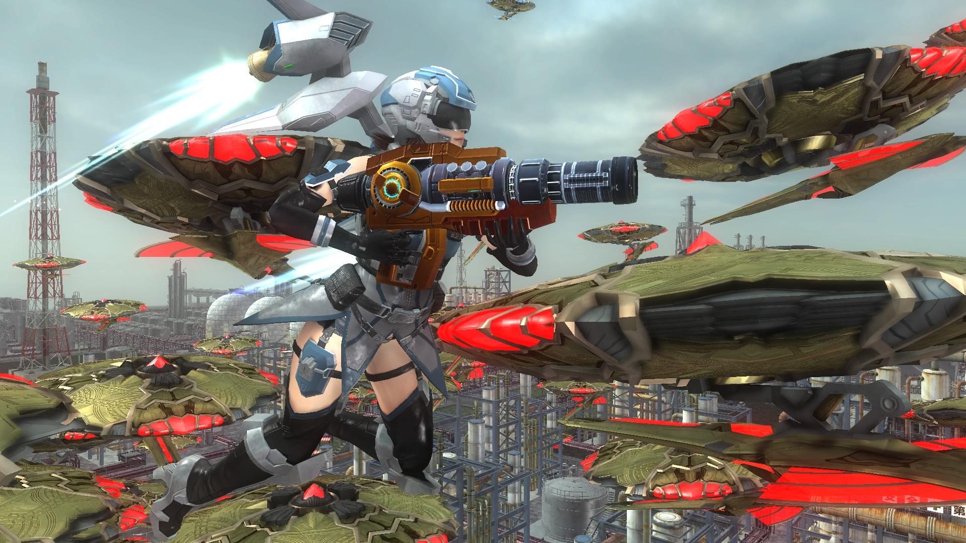 EARTH DEFENSE FORCE 5 скриншот 7