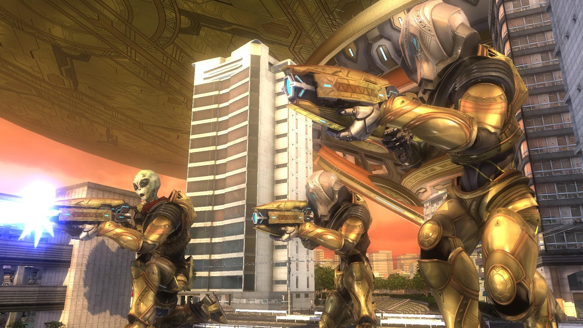 EARTH DEFENSE FORCE 5 скриншот 5