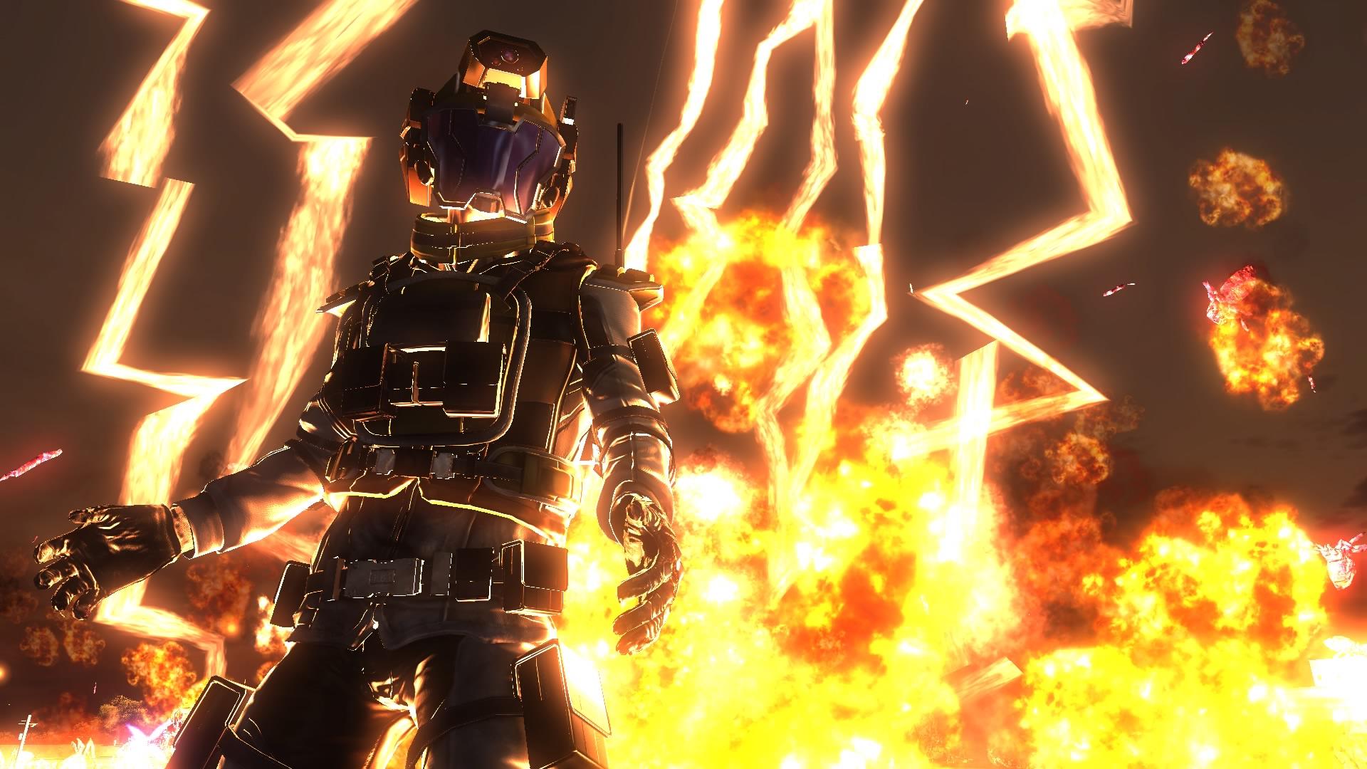 EARTH DEFENSE FORCE 5 скриншот 9