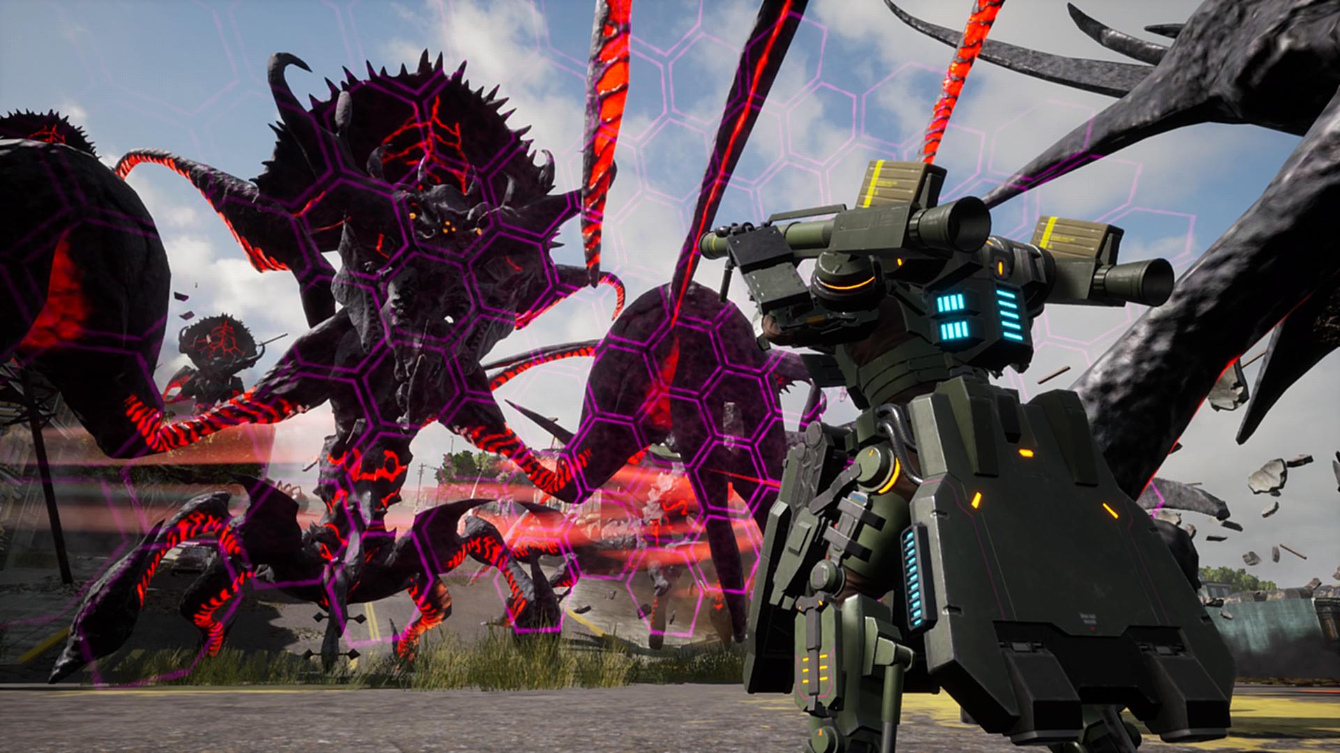 EARTH DEFENSE FORCE: IRON RAIN Ultimate Edition скриншот 3
