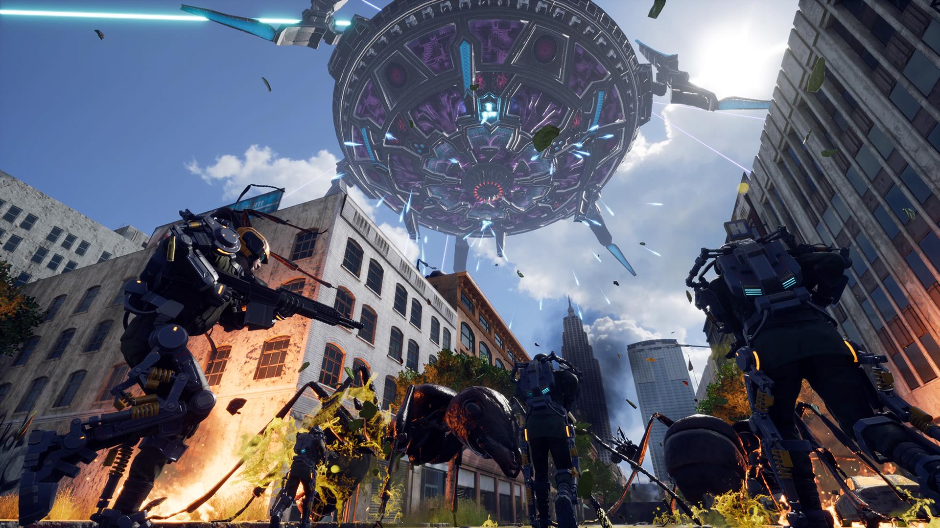 EARTH DEFENSE FORCE: IRON RAIN Ultimate Edition скриншот 4