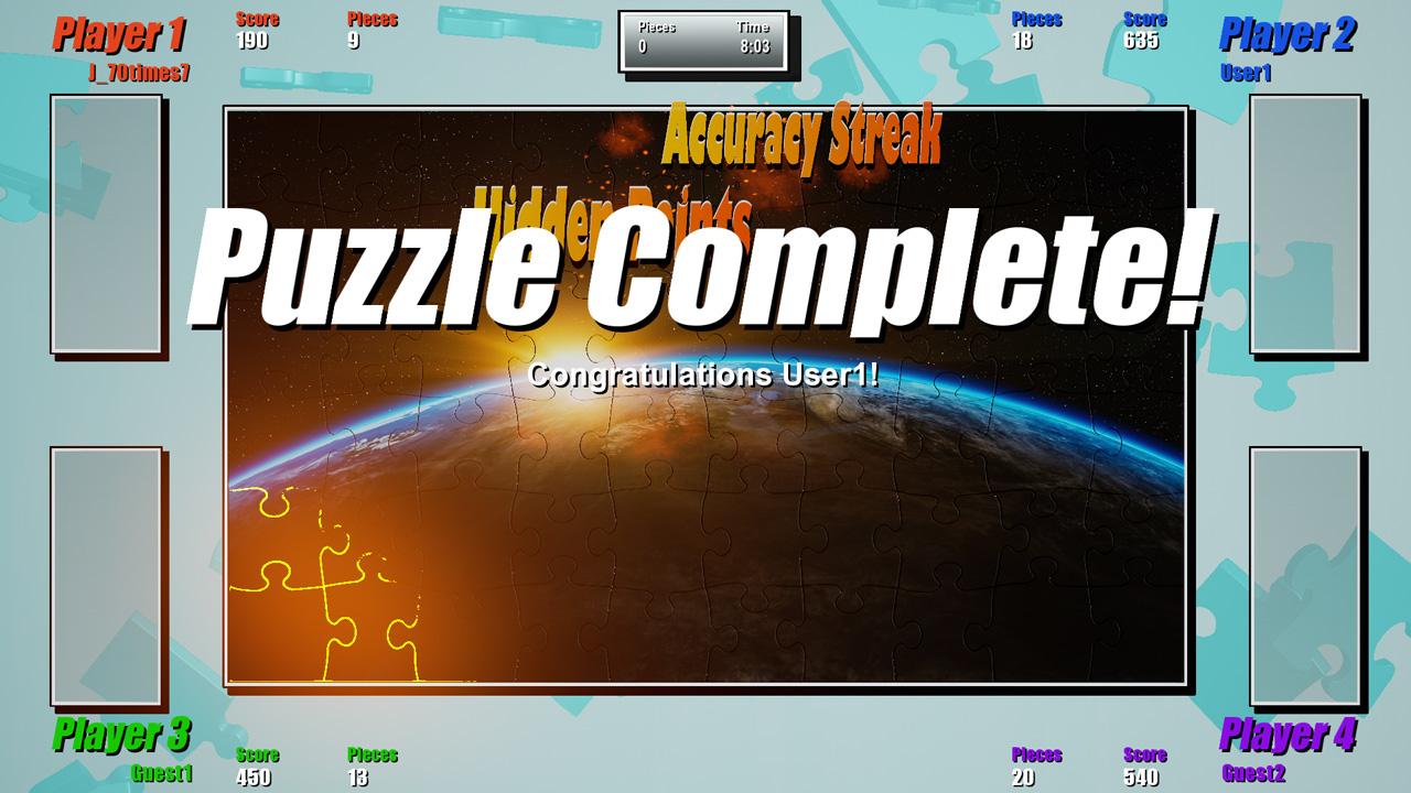 Скриншот №4 к Puzzle Showdown 4K