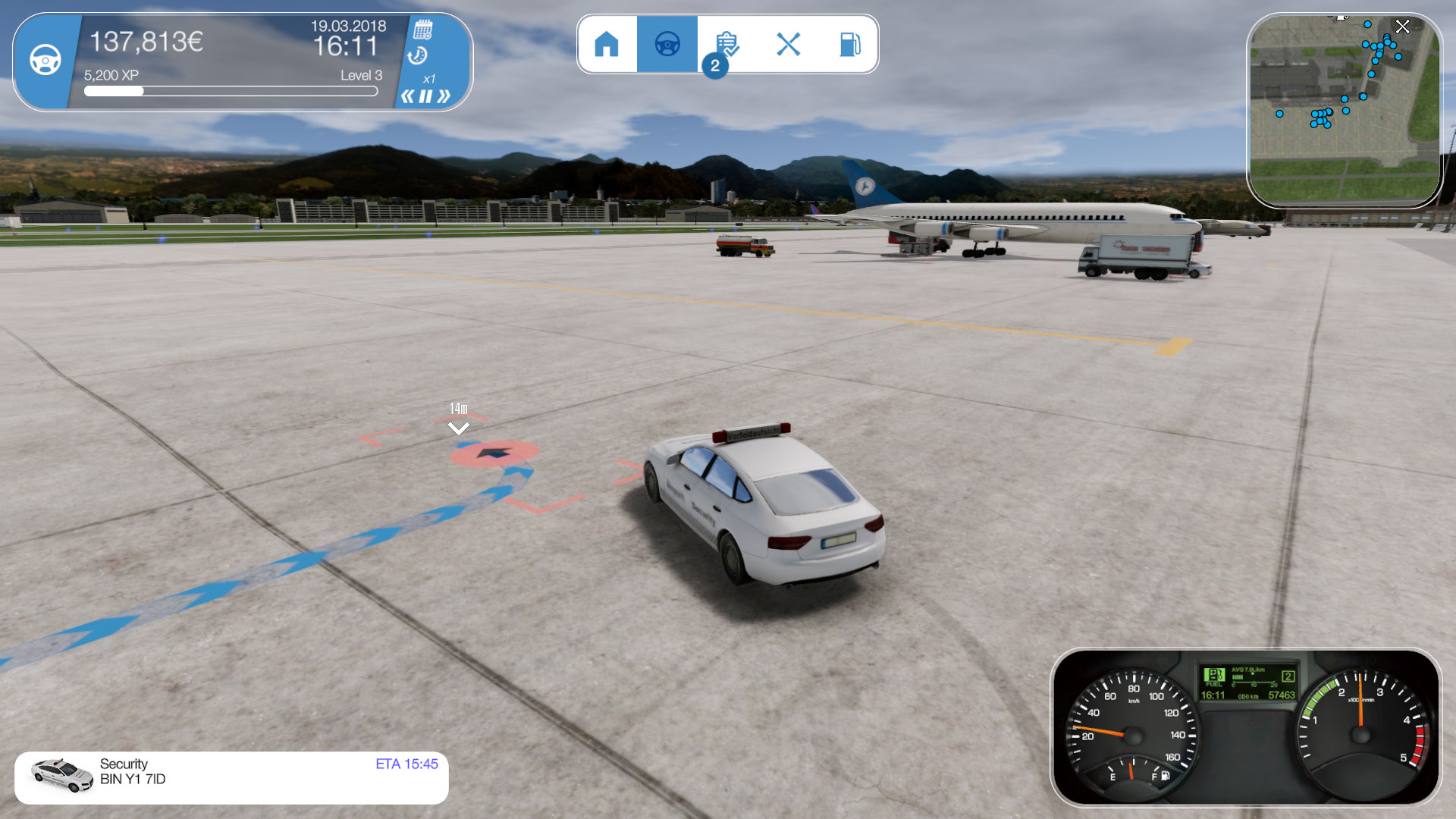 Airport Simulator 2019 скриншот 1