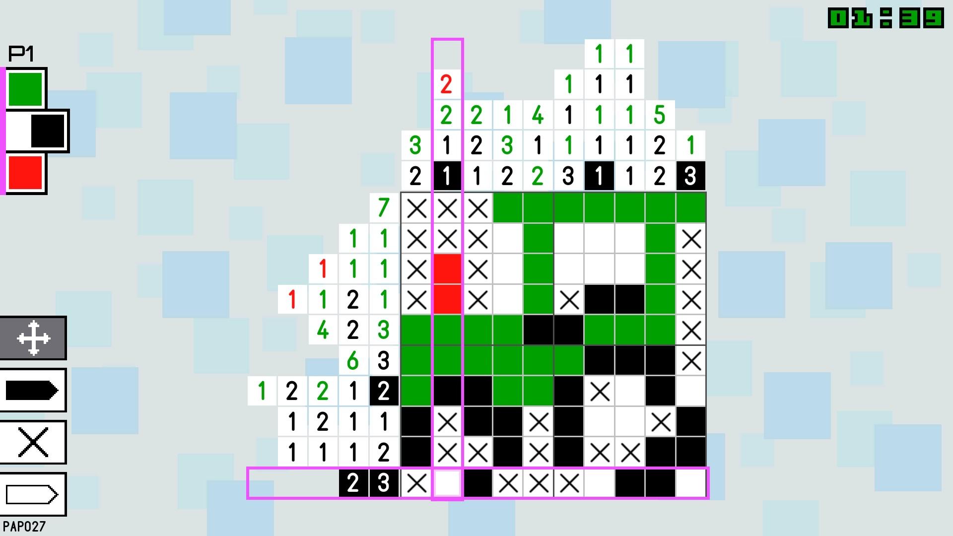 Pic-a-Pix Color скриншот 1