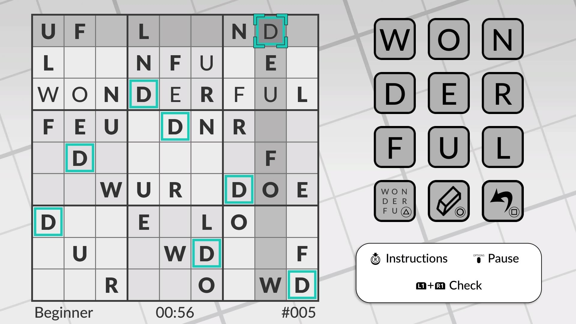 Скриншот №1 к Word Sudoku by POWGI