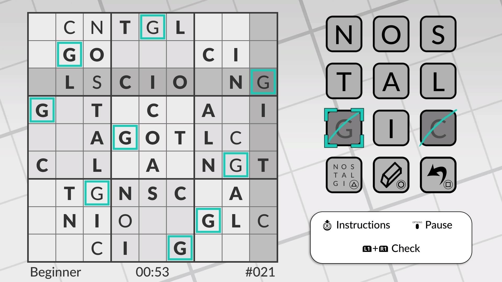 Скриншот №3 к Word Sudoku by POWGI