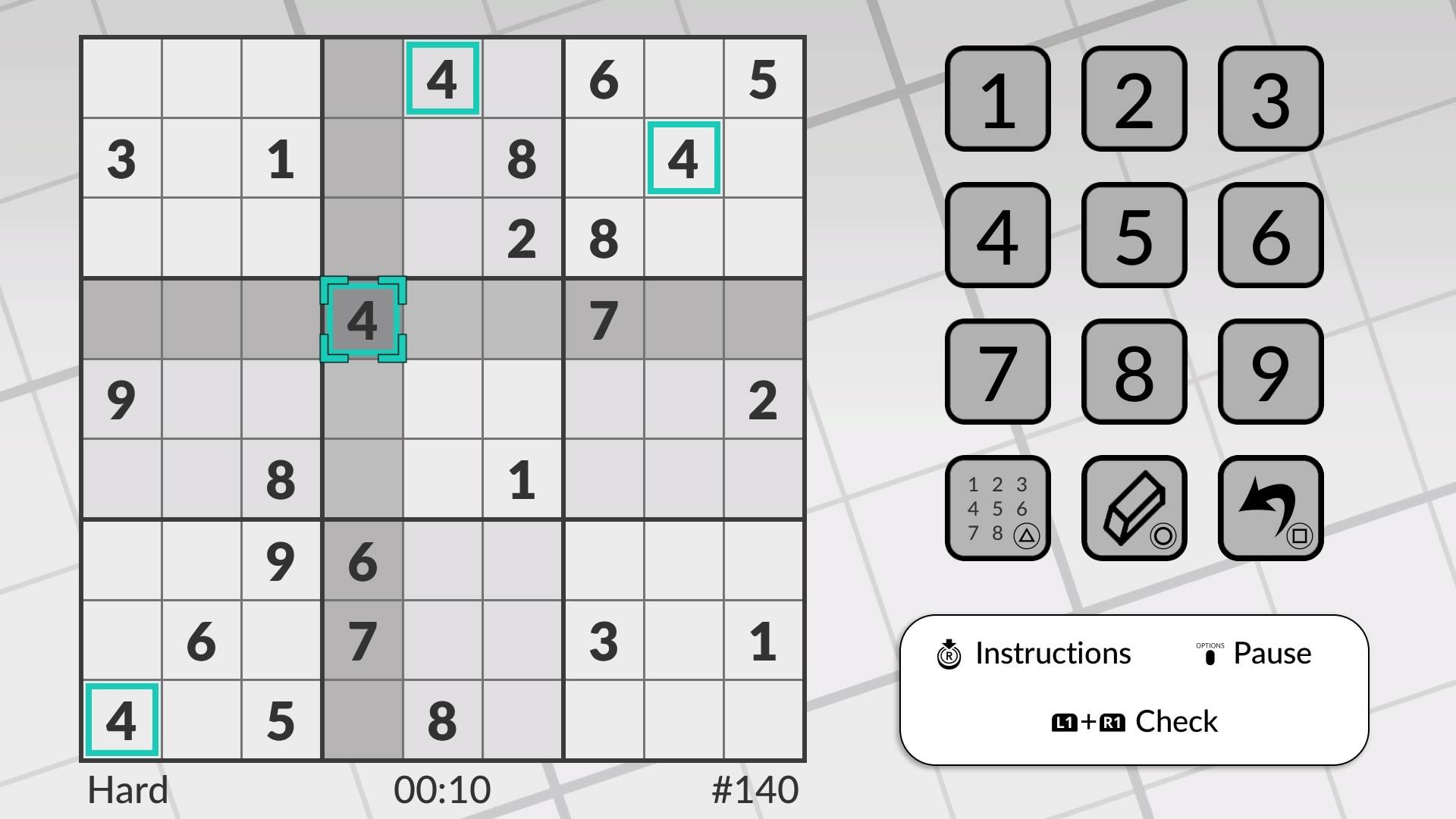 Скриншот №2 к Word Sudoku by POWGI